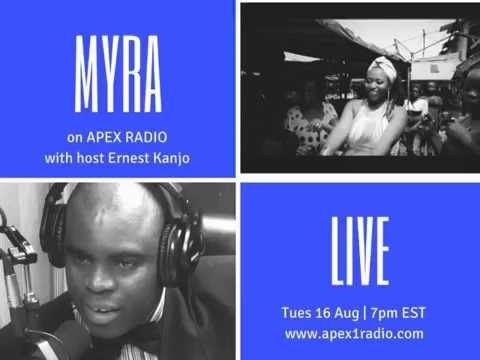 Live SNAPSHOT WITH  MYRA MAIMOH  on APEX1RADIO