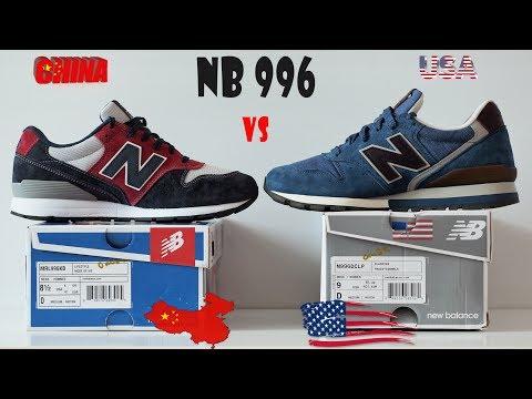 VS #01/Кроссовки NB 996/ China vs USA