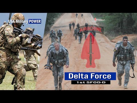 What It Takes To Become The Delta Force Operators?