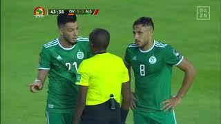 Ramy Bensebaini schlägt sich die Hand des Gegenspielers ins eigene Gesicht | DAZN
