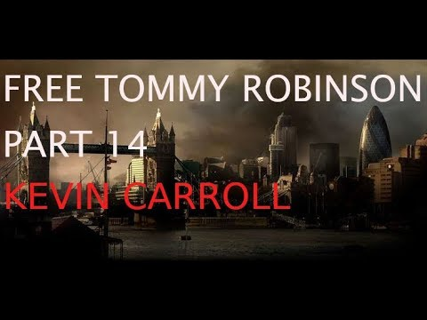 Free Tommy Robinson day Whitehall June 9th 2018 – Part 14 – Kevin Carroll speech