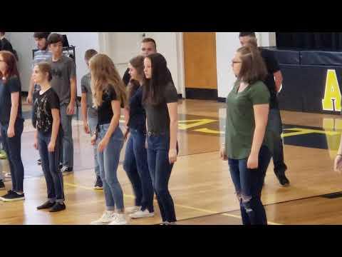 2019 East Yancey Middle School performance of Bohemian Rhapsody