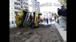 سكيكدة حادث انقلاب شاحنة08/05/2014