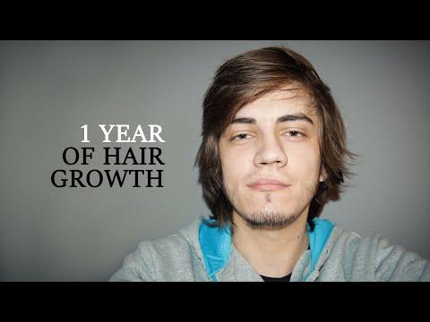 1 Year Of Hair Growth | Timelapse