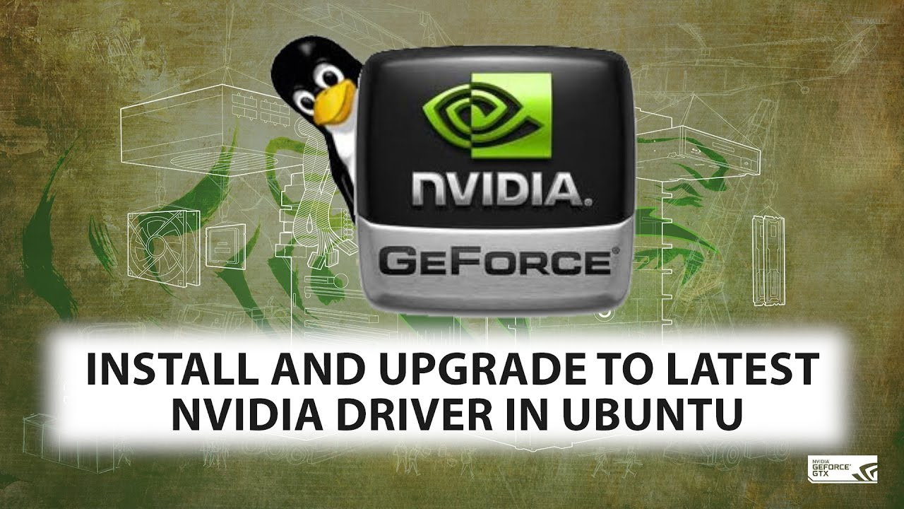 Install or Upgrade to Latest Nvidia Driver in Ubuntu in 2 Step - Quickly  Tutorial (apt-get) 2017