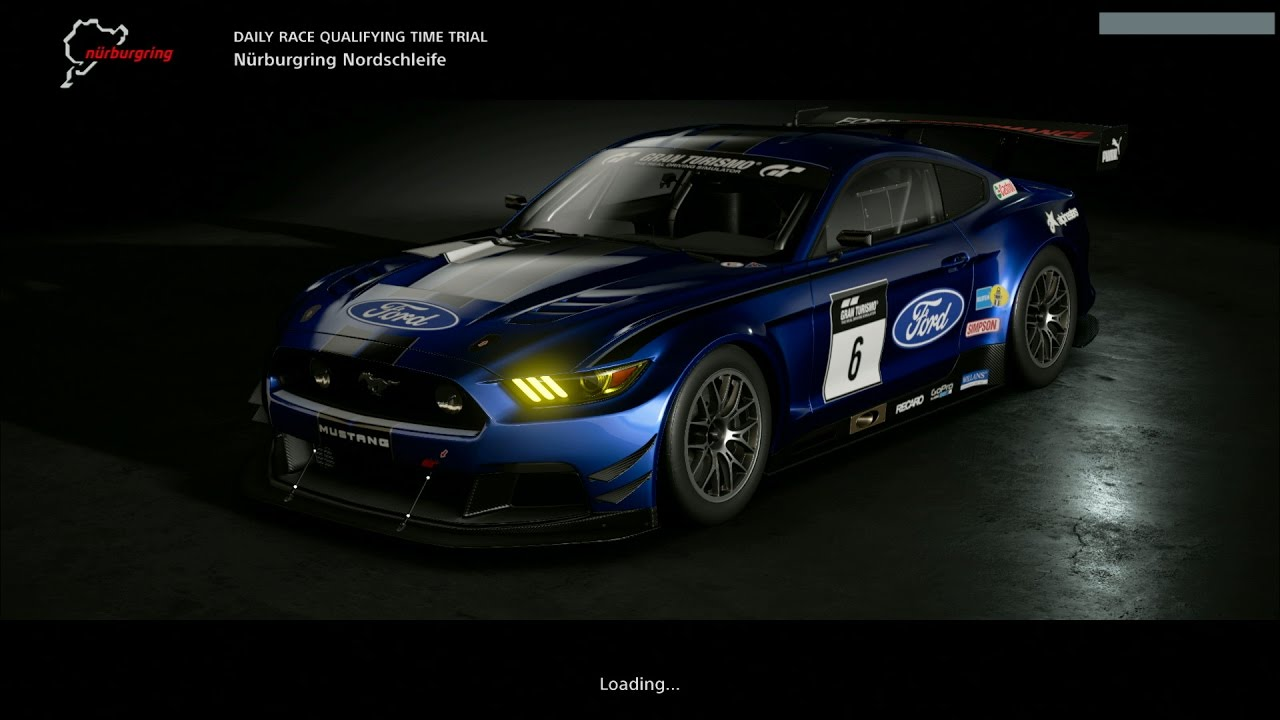 Gt Sport Gameplay Nurburgring Nordschleife Ford Mustang P Fps Ps Pro
