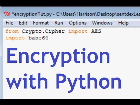 Python Encryption Tutorial with PyCrypto