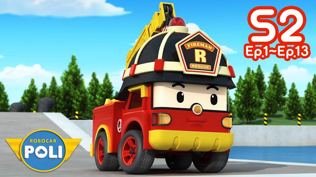 Robocar POLI Season 2 Full Episodes | Ep.1~Ep.13 Nonstop Play | Cartoon for Kids | Robocar POLI TV
