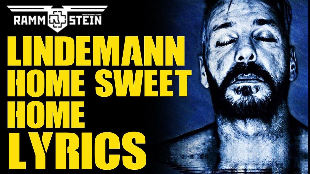 Dec 25, 2020· sweet home lyrics: Lindemann Home Sweet Home Lyrics Youtube