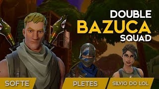 DOUBLE BAZUCA-SQUAD-16 KILLS-449 WINS (Fortnite Battle Royale gratuit) [EN-BR]-Softe
