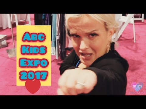 ABC Kids Expo 2017 VLOG Day Episode 1