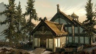 TES V: Skyrim - Hearthfire Строим дом