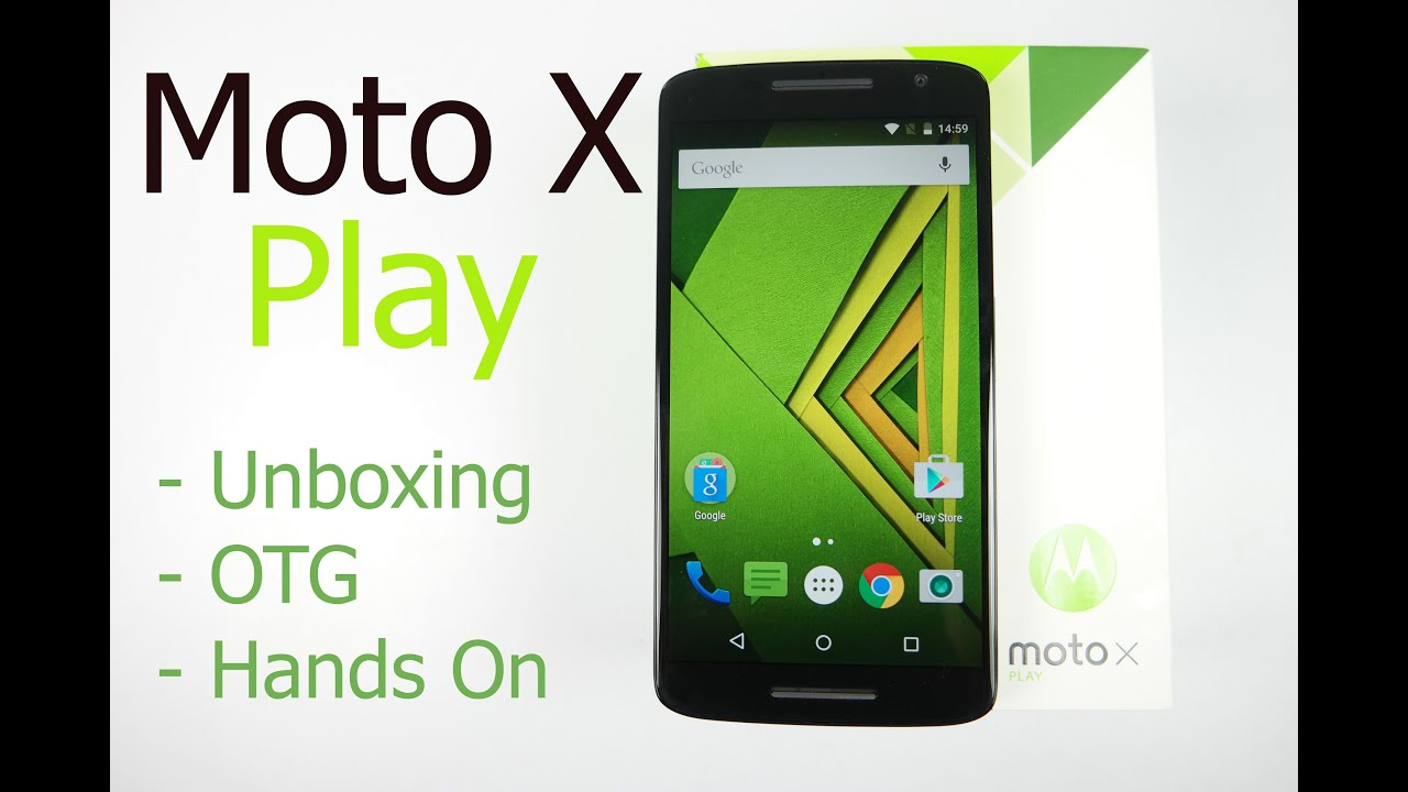 Aug 31, 2015. Launching around the £270 mark, the moto x play delivers a great. And of course there's also the option to just buy the 32gb model instead.