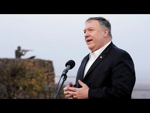 Mike Pompeo Y Su Provocadora Visita A Los Territorios Palestinos Ocupados