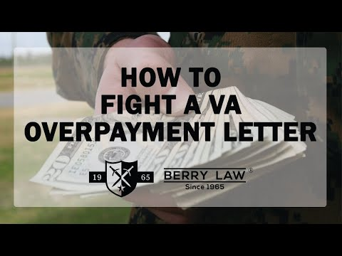 How to Fight a VA Overpayment Claim | America's Veterans Law Firm