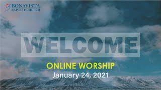 BBC Sunday Worship January 24
