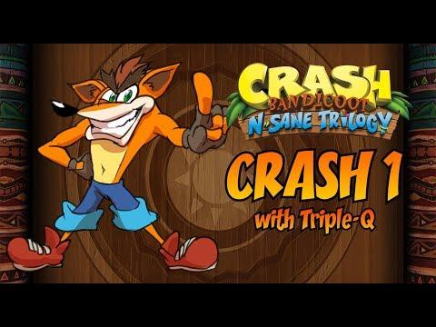 Crash Bandicoot 1 Playthrough - Crash Bandicoot N. Sane Trilogy - Crash Bandicoot 1 Playthrough - Crash Bandicoot N. Sane Trilogy