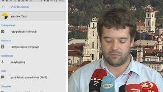 """Valstybinės įstaigos skuba įspėti darbuotojus apie """"Yandex.Taxi"""" programėlę"""