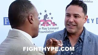 DE LA HOYA CONFIRMS CANELO VS. GOLOVKIN 2 IS HAPPENING IN SEPTEMBER TO SUGAR RAY LEONARD