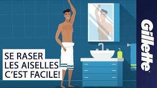 Comment se raser les aisselles : Conseils de rasages pour homme |Gillette STYLER
