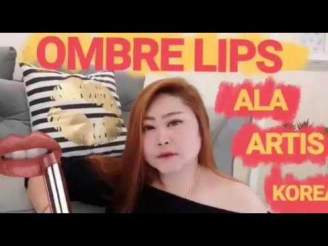 ombre-lips-ala-artis-korea!!!-korea-ombre-lips