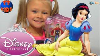 ✔ Принцесса Белоснежка. Ярослава и новая кукла. Игрушки для детей / Princess Snow White Disney ✔