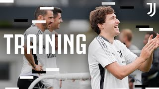 First Team Open Training ft The Euro 2020 Champions Juventus Training