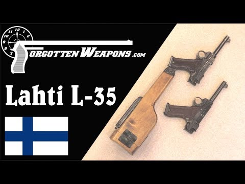 Lahti L-35: Finland's First Domestic Service Automatic Pistol