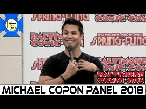 POWER RANGERS' Michael Copon Panel - Baltimore Comic Con 2018