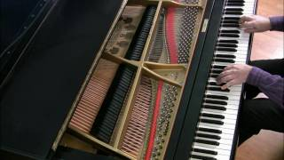Bach: Invention 5 in Eb major (newer version) | Cory Hall, pianist-composer