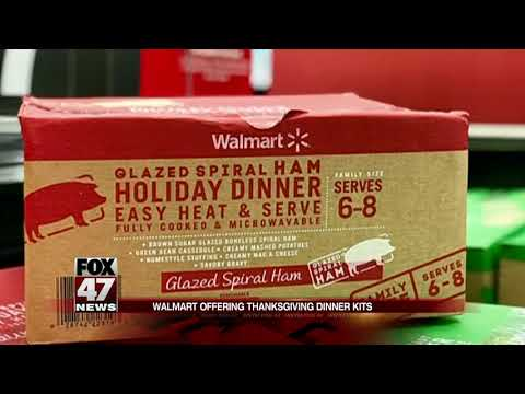 "The Morning Breeze - Walmart selling ""Thanksgiving Holiday Dinner"" kits for less than $50!"