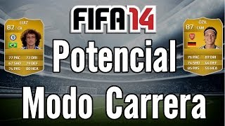 Video FIFA 14 Cual es el Potencial de los Jugadores - Modo Carrera download MP3, 3GP, MP4, WEBM, AVI, FLV April 2018