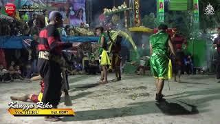 DITINGGAL RABI & KANGGO RIKO Cover Voc Bu YAYUK & HERU == New SABDO MANGGOLO Live DINGIN 2018