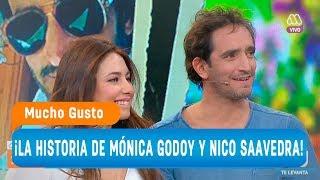 ¡La historia de amor de Mónica Godoy y Nicolás Saavedra! - Mucho gusto 2018