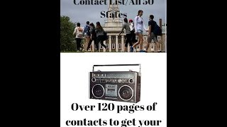 How To Get Your Music Played On The Radio/College Radio Contact List