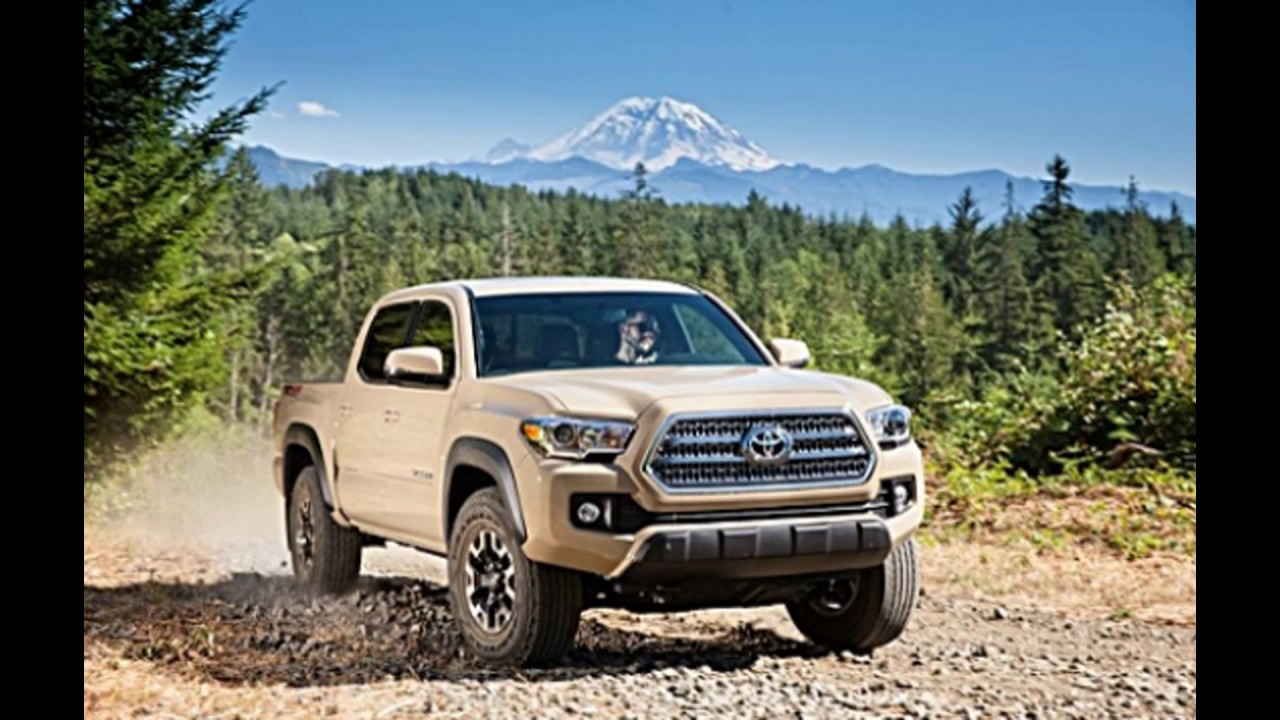New In 2018 Toyota Tacoma Trd Pro Offroad