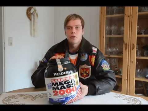 Гейнер Weider Mega Mass 2000 3 кг - YouTube