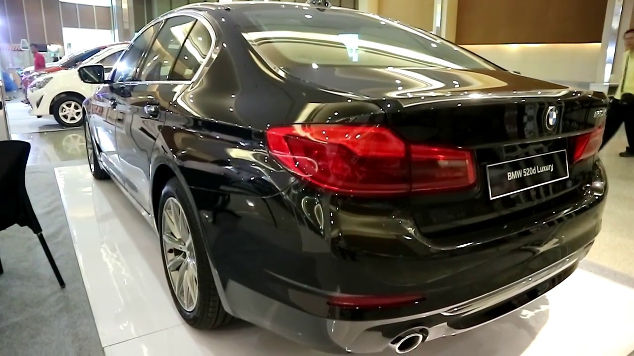 New Bmw 520 D Luxury Diesel 2018 Black Colour Youtube