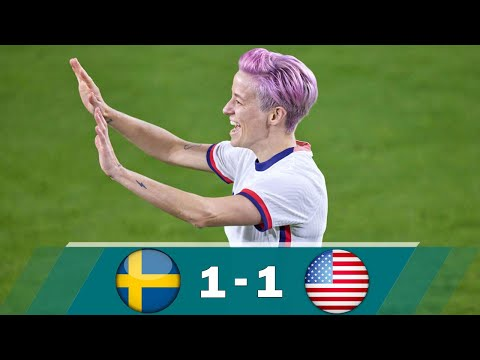 USWNT vs Sweden women 1-1 Extended Highlights & All Goals - Women's Friendly 2021