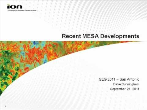 MESA Software Upgrades 2011