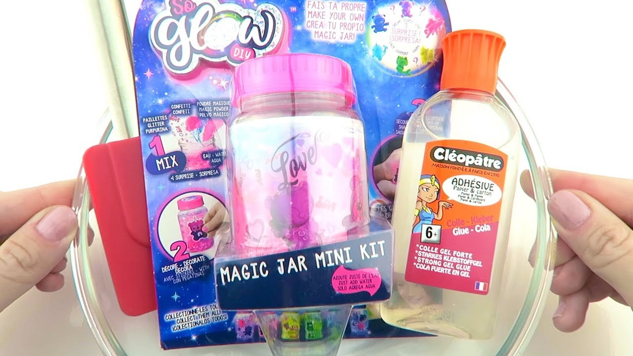 Will it Slime? Testing So Glow DIY Magic Jar Kit!