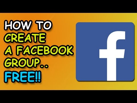 How To Create A Public Group On Facebook 2017 Tutorial