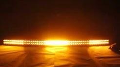 Night Break Light 300W white Amber led light bar