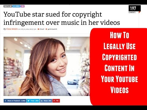 How To Legally Use Copyrighted Music, Video Games and TV Clips on YouTube