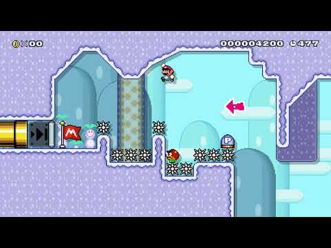 Repeat Mario Maker 2 Kaizo levels #1 by Zilgyd - You2Repeat