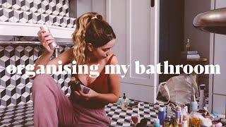 Organising My Bathroom | Skincare & Beauty Products