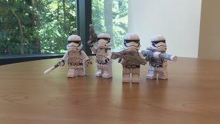 Lego Papercraft: Storm Trooper Episode 7