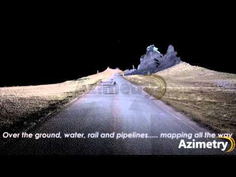 Terrestrial Mobile LiDAR Scan for Paved Road