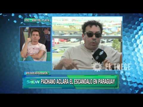 Aníbal Pachano se enojó con Este es el show y usó todo su sarcasmo