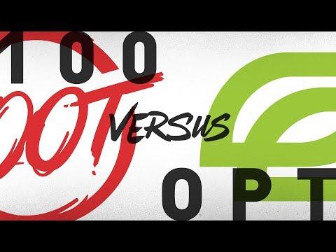 100 Vs. OPT - Week 3 Day 2 | NA LCS Summer Split | 100 Thieves Vs. OpTic Gaming (2018)